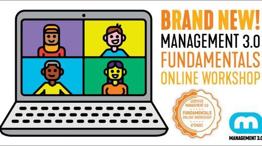 Management 3.0® Fundamentals + OKR #02 On-line | 17/08/2020